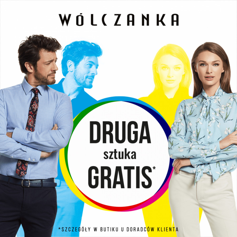 5b87f162f3e6f Druga sztuka gratis w butiku Wólczanka! » Poznań Plaza